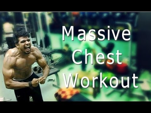 Massive Chest Workout for MASS  | Teen Bodybuilding India