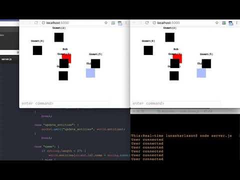 Node.js Multiplayer Game