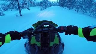 7. Saturday in Lapland Backcountry - Arctic Cat M6000 153'' Sno Pro
