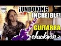 ¡UNBOXING INCREÍBLE! | Guitarra Jackson: El Modelo Exclusivo de Marty Friedman