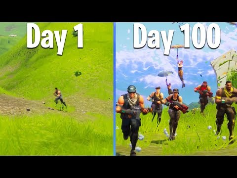100 DAYS OF FORTNITE (Battle Royale's 100th Day Since Launch)