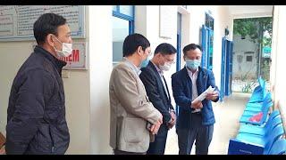 BT Thành ủy Nghiêm Xuân Cường thăm, động viên các đơn vị y tế làm NV phòng, chống dịch bệnh Covid-19
