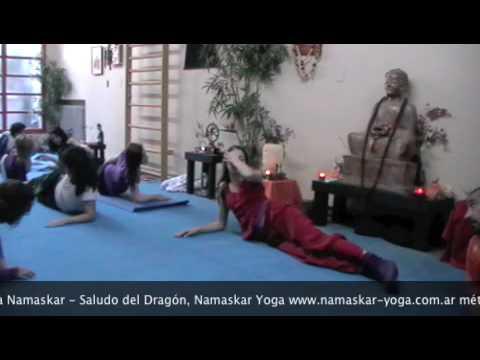 Ananta Namaskar – Saludo del Dragón, Yoga Integral ® Maitreyananda