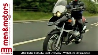 8. 2000 BMW R1150GS Brief Overview - With Richard Hammond