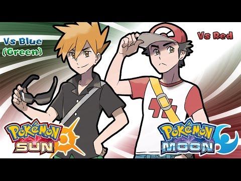 Pokemon Sun & Moon - Champion Red & Blue Battle Music (HQ)