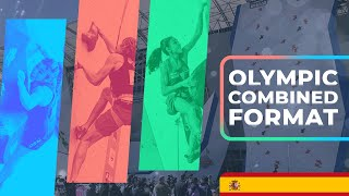 IFSC Combined Format Explained (Español) by International Federation of Sport Climbing