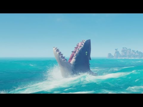 I Couldn't Protect My Father Against The Megalodon In Sea Of Thieves