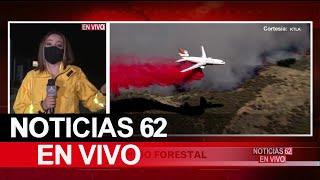 Combaten incendio forestal en Agua Dulce – Noticias 62 - Thumbnail