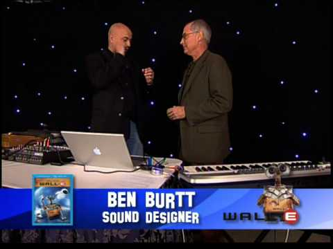 chuckthemovieguy - Chuck the Movieguy interviews legendary Sound Designer Ben Burtt for the DVD of WallE.