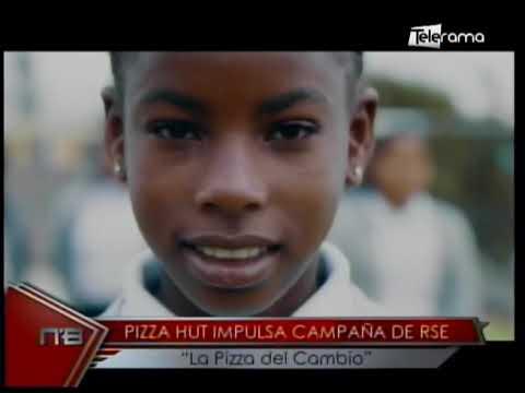 Pizza Hut impulsa campaña de RSE La Pizza del Cambio