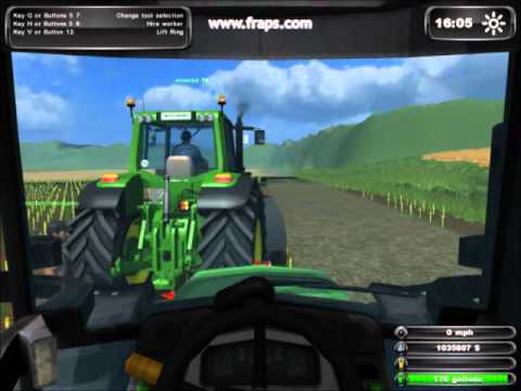 farming simulator 2011 neisemer map plough