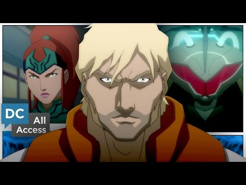 Justice League: Throne of Atlantis (1st Clip)