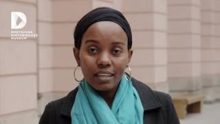 Zuckerdose mit Figur einer afrikanischen Frau