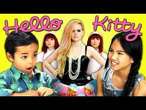 Kids React to Avril Lavigne – Hello Kitty