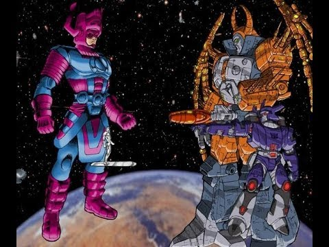 unicron - Unicron vs. Galactus Hey guys welcome back Well it has been awhile, but we finally can get back into the Fantasy Battle series. This video, we Pit the infamo...