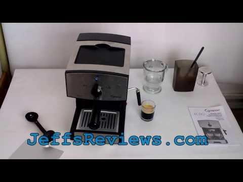 Capresso EC50 Stainless Steel Espresso & Cappuccino Machine