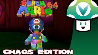 The chaos edition of Mario 64 randomly modifies the game while you're playing. The results are akin to a trip to the dentist.