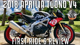 3. Should I Buy a 2018 Aprilia Tuono V4 1100 Factory? | First Ride and Review!