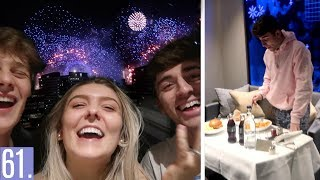 Video Celebrating New Years In London With The Social Climbers  *SO FUNNY* MP3, 3GP, MP4, WEBM, AVI, FLV Januari 2018