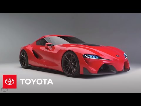 TOYOTA CONCEPT CAR - The Toyota FT-1 concept is a pure performance, track-focused sports car model created by CALTY Design Research, Toyota's North American Design branch. The FT...