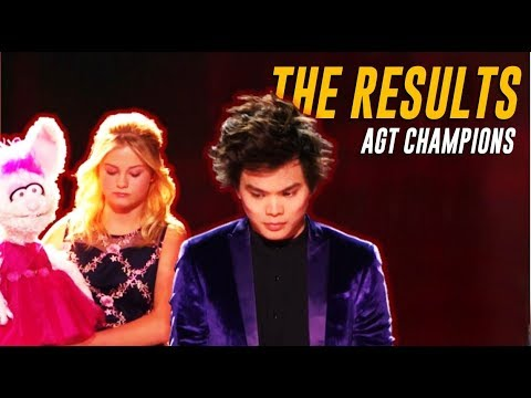 AND THE WINNER IS.... AGT CHAMPIONS Season 1 Winner Announcement!