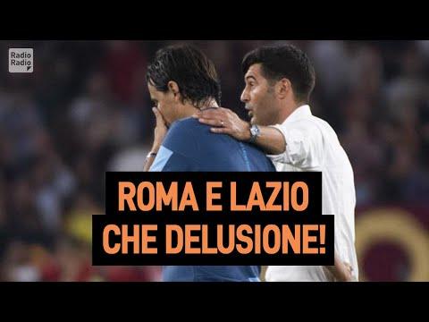 Disastro Roma e Lazio in Europa League ►  Chi ha deluso di più?