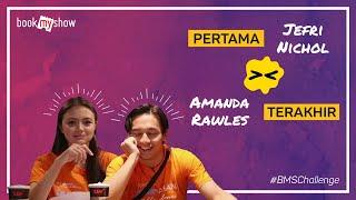 Download Video BMS Challenge! Amanda Rawles - Jefri Nichol  Pertama dan Terakhir Kali - BookMyShow Indonesia MP3 3GP MP4