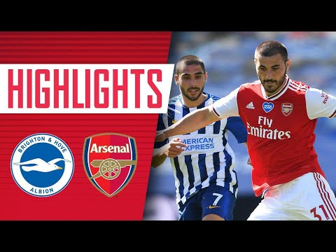 HIGHLIGHTS | Brighton 2-1 Arsenal | Premier League | June 20, 2020
