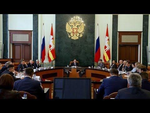Сегодня губернатор Борис Дубровский обратится с посланием к депутатам Законодательного собрания