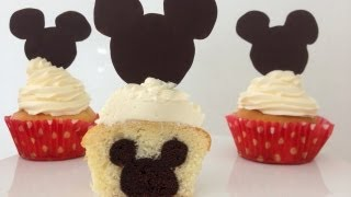 Mickey Mouse Cupcakes Mickey on INSIDE How To Cook That Ann Reardon - YouTube