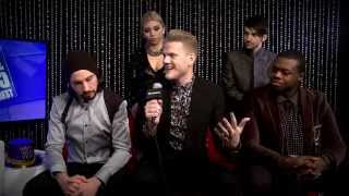 Pentatonix Backstage Interview - NYRE 2015