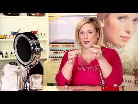 Eyebrow Instructions Using Your Dinair Airbrush Makeup