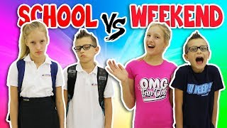 Video NIGHTTIME ROUTINE!!  SCHOOL DAY vs WEEKEND MP3, 3GP, MP4, WEBM, AVI, FLV Juli 2018