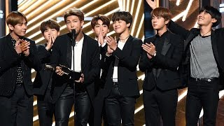 BTS Becomes First K-Pop Act In History To Win A Billboard Award Video