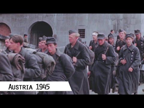 1945: Österreich im Mai 1945 (in Farbe und HD)
