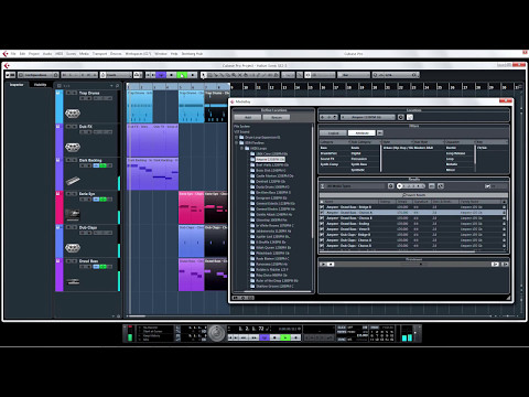 Cubase 8 Advanced Video Tutorials   05   HALion Sonic SE2, Groove Agent SE4, EDM toolkit