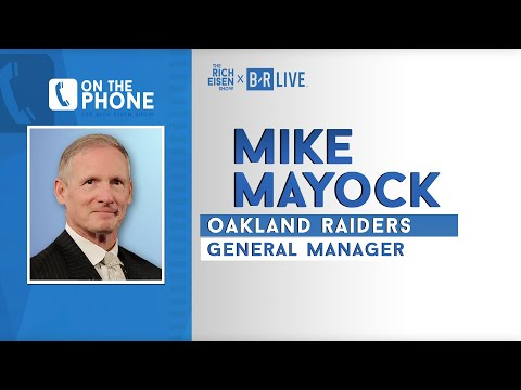 Raiders GM Mike Mayock Talks Hard Knocks, AB, Josh Jacobs & More with Rich Eisen | Full Interview