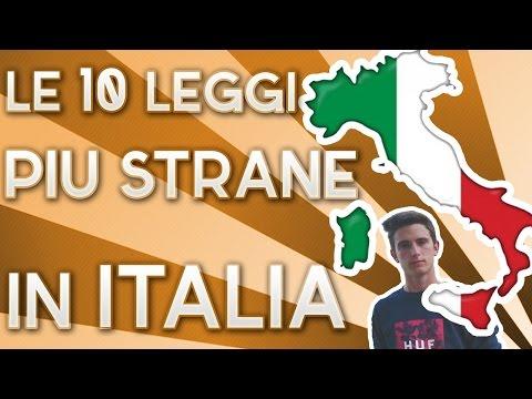 stranezze italiane - le leggi più assurde!