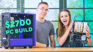 Video My First PC Build with Austin Evans !!!! MP3, 3GP, MP4, WEBM, AVI, FLV Juni 2019