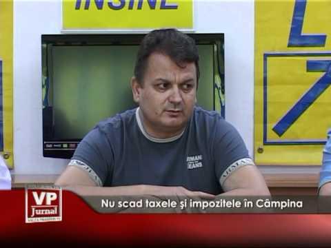 Nu scad taxele şi impozitele în Câmpina