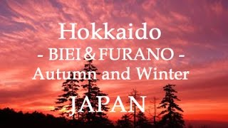 Furano / Biei Japan  city pictures gallery : Autumn and Winter of Hokkaido (BIEI,FURANO) 美瑛・富良野の秋と冬