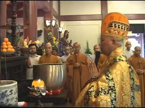 Chùa Huệ Nghiêm – Lễ Khai Quang Đại Hùng Bảo Điện – Khai Chung Bản -2