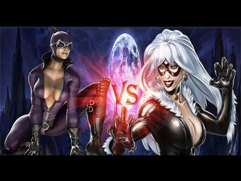 Catwoman Vs Blackcat : Epic Battles Episode 19