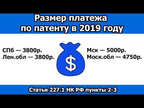 сколько стоит патент в ростовской обл