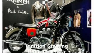 5. Triumph Bonneville T100 UnionJack -  Dealers superbike Top Speed motorbike Transmission