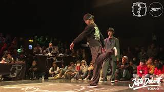 バフケロ (バファリン & KELO) vs Hibiki & REOU – JUSTE DEBOUT TOKYO 2020 POPPING BEST8 (Another angle)