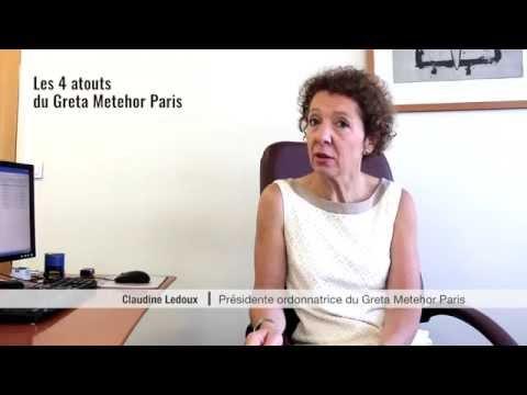 Les 4 atouts du Greta Metehor Paris
