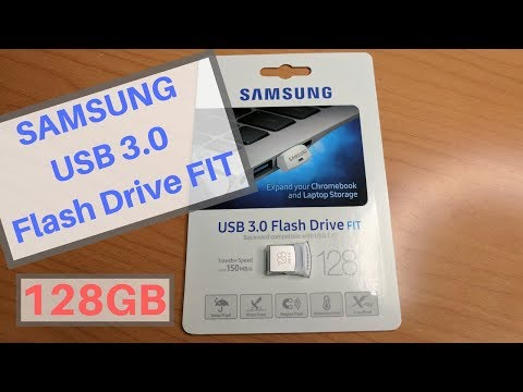 SAMSUNG USB 3.0 128GB Flash Drive FIT Review