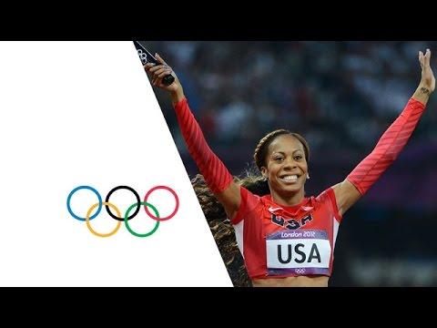 USA Win 4x400m Relay Gold - London 2012 Olympics