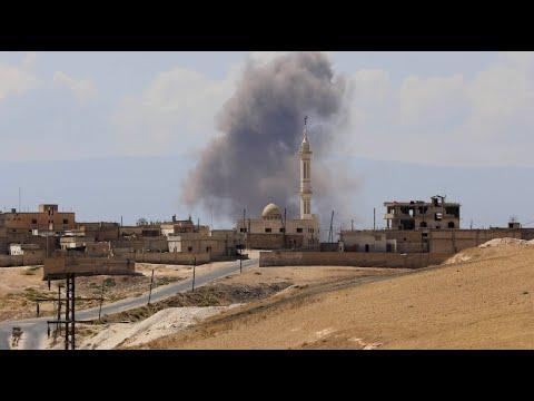 Russland und Syrien greifen Rebellengebiete an
